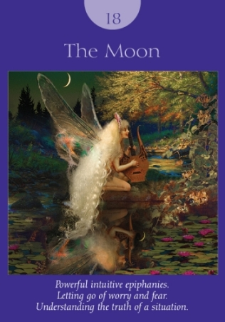 The Moon Card 18
